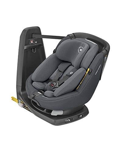 Bébé Confort AxissFix Plus i-Size, siège auto évolutif, siège auto pivotant, de la naissance à 4 ans, 45-105 cm, Authentic Graphite (gris)