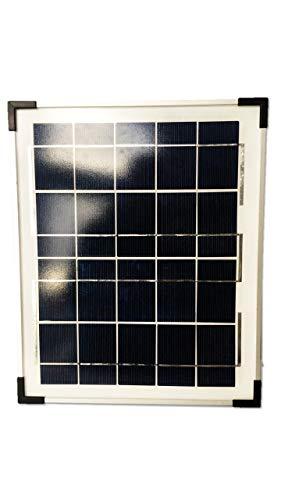 VILLAGEBOOM 9V Solarmodul 10W Solarpanel Solarzelle Polykristallin Photovoltaik Solar Modul