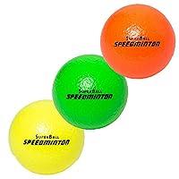 Besonders griffiger Allroundball aus Schaumstoff für den Innen- und Außenbereich geeignet Durchmesser: 7cm, Gewicht pro Ball: 17g Made in Sweden. Wir stellen Ihnen ein 3er Pack je nach Verfügbarkeit der Farben zusammen.