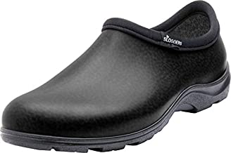 Sloggers Men's Waterproof Shoe with Comfort Insole, Black, Size 12, Style 5301BK12