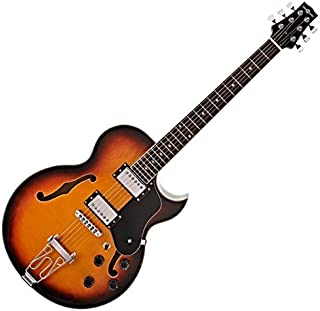 Guitarra San Diego Semiacustica de Gear4music Sunburst