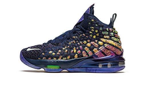 Nike Lebron Xvii As (gs) Big Kids Basketball Shoes Cw1036-400 Size 4