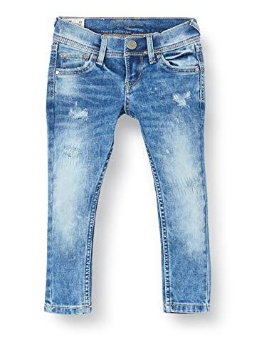 Pepe Jeans Jungen Finly Repair Jeans, Blau (Medium Used 000), 2 Jahre (Herstellergröße: 2y/92)
