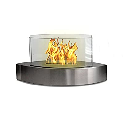 Anywhere Fireplace Lexington Table Top Ethanol Fireplace (Stainless)