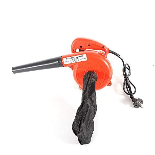 Elektro Laubbläser Laubsauger 700 W - inkl. Fangsack Blasgeschwindigkeit bis13000r/min hohe Saugleistung leaf blower garden