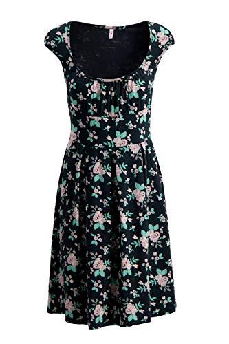 Blutsgeschwister Damen Kleid Glockengeläut Robe Foxy Flower - (M)