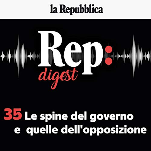 Le spine del governo. E quelle dell'opposizione audiobook cover art