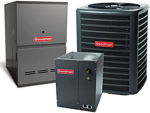 Goodman Year-end annual account 2.0 TON 14.5 SEER Air store G Conditioner Bundle with Furnace