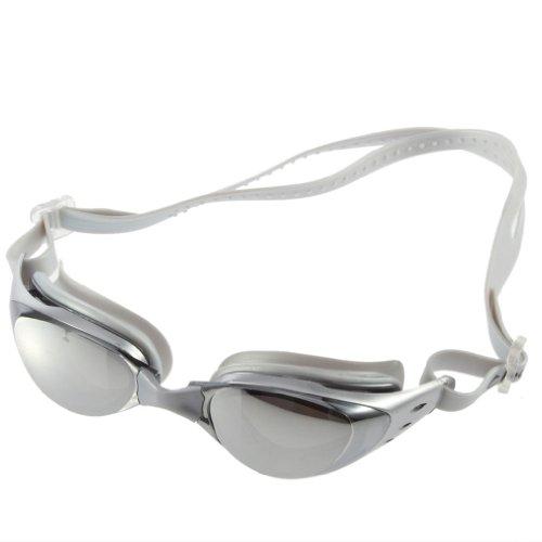 Gesh Gafas de natación para adultos, antirayos UV, ajustables para mujeres y hombres