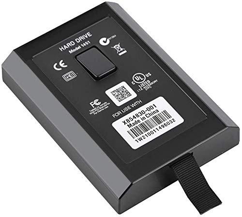 VBESTLIFE HDD Festplattenlaufwerk-Kit für Xbox 360 320 GB interner Slim (Schwarz)