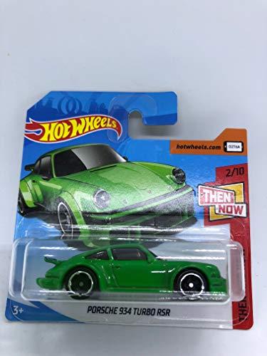 Hot Wheels 2018 Porsche 934 Turbo RSR Green 2/10 Then and Now 338/365 (Short Card)