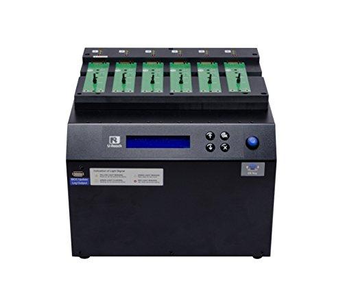 U-Reach PCIe NVMe (M.2)/U.2 Duplicator and Sanitizer 1-5