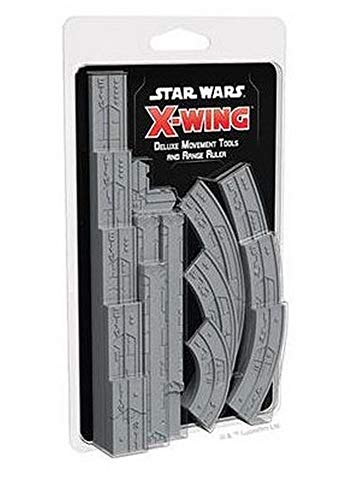 Asmodee Italia - Star Wars X-Wing Instrumentos Movim. y regla Gittata Deluxe...