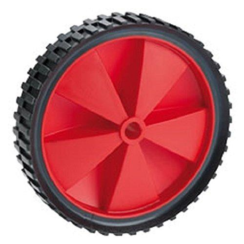 PVC-Rad, bis 25 kg, mit Kunststofffelge rot und Stollenprofil | Durchmesser: 150 mm / Radbreite: 32 mm