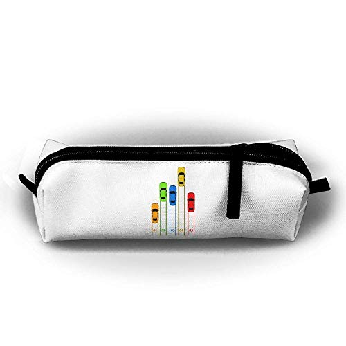 shenguang Car Race Pencil Case Pencil Holder Cosmetic Bags Makeup Bags Purse with Zipper