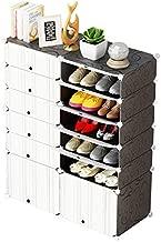 Cubic Shoe Organizer, Black & White - H 122 cm x W 94 cm x D 37 cm