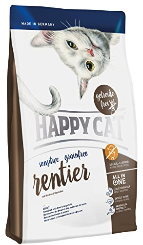 Happy Cat Grainfree Rentier, 1er Pack (1 x 1.4 kg)