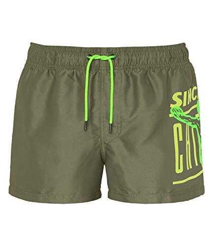 Chiemsee Herren Swimshorts, Dusty Olive, XL