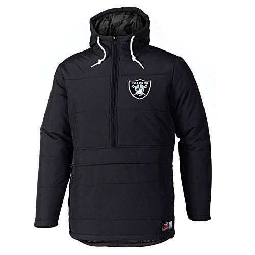 Majestic Oakland Raiders Juupa Padded NFL Jacke, S