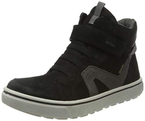 ECCO Jungen GLYDER Hohe Sneaker, Schwarz (Black 59458), 28 EU