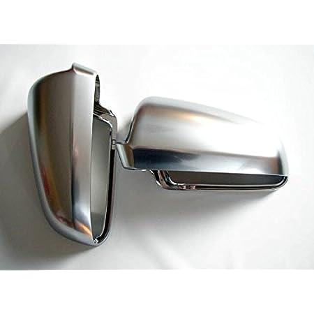 Paar Spiegelabdeckung Kohlefaser Spiegel Kappe Carbon Außenrückspiegel Auto
