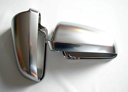 Calotta per specchietto, design in alluminio, set sinistro + destro