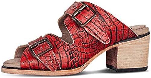MENGLTX MENGLTX MENGLTX High Heels Sandalen 2019 Größe Größe 50 Frauen Gladiator Sandalen Peep Toe Schnalle Sommer Schuhe Dame High Heels Mode Mules Frau Freizeitschuhe  verkaufen sich wie warme Semmeln