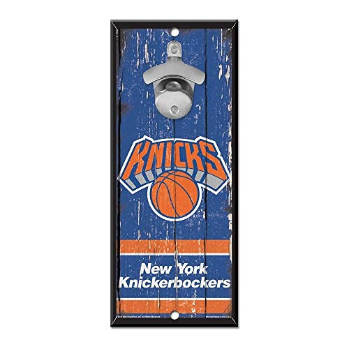 Wincraft New York Knicks NBA - Cartello con apribottiglie