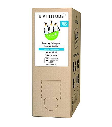 ATTITUDE Bulk to go Flüssig-Waschmittel zum Nachfüllen - Wildblumen (1 x 4000ml)