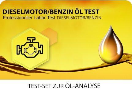 Öl Test für Diesel- und Benzinmotoren