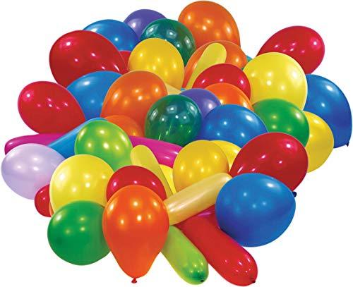 amscan Latexballons Formen & Farben, farbig Sortiert