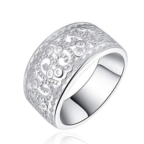 Elegante Modische Ringe für Frauen Zirkonia Dekoration für Hochzeit Verlobungsringe Schmuck Geschenk