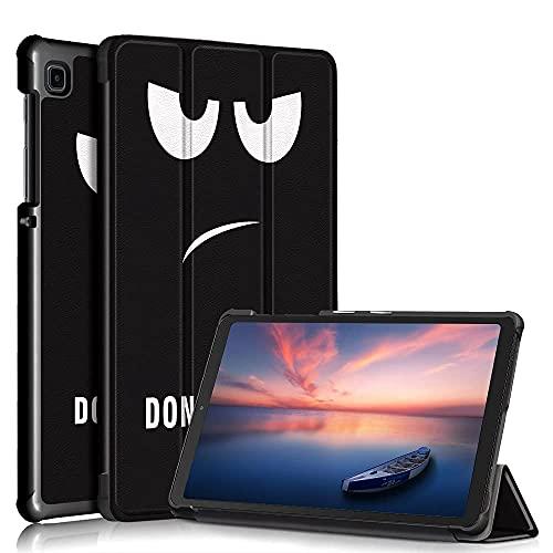 Custodia protettiva per Samsung Galaxy Tab A7 lite 8.7 inch 2021 SM-T220 T225 ,tablet cover case Staffa ripiegabile leggera (Occhio)