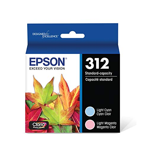 EPSON T312 Claria Photo HD Ink Standard Capacity (T312922-S) for select Epson Expression Photo Printers