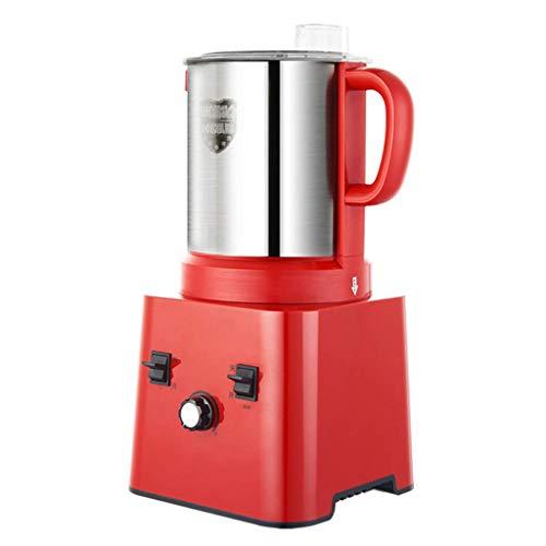 WZLJW Elektro-Gewerbe Fleischwolf 1000W High Power 8L große Kapazitäts-Home Küche Küchenmaschine, S-Typ Stereo Eisensaege, Stufenlos Knob Geschwindigkeit ggsm (Color : Red, Size : 23 * 23 * 46cm)