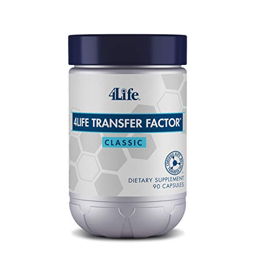4Life - Transfer Factor Classic - Immune System Support Featuring 4Life Transfer Factor from Cow Colostrum - 90 Capsules
