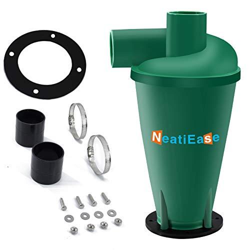Cyclone Colector de polvo Colector de polvo Separador de polvo Shop Vac Accesorios (verde)