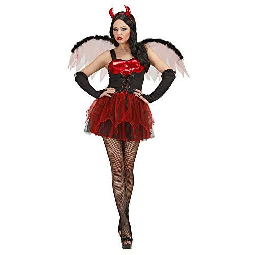 Widmann ? Costume de Halloween Lucifer pour fille, taille s (s/89831)