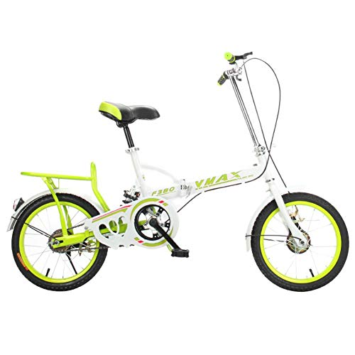 SDZXC Student vouwfiets voor dames en heren, lichtgewicht, opvouwbare fiets