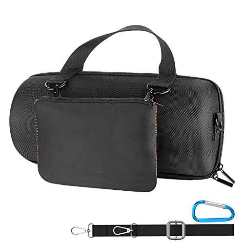 Geekria Estuche de transporte para JBL Xtreme 2 altavoz Bluetooth inalámbrico portátil impermeable Xtreme 2 funda para altavoz, bolsa de viaje dura, caja de transporte, al aire libre (negro)