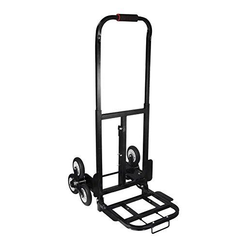 Capacidad 200kg Escaladora Carro de Mano de Escalada para Transportar Cargas Pesadas Arriba y Abajo de Las Escaleras