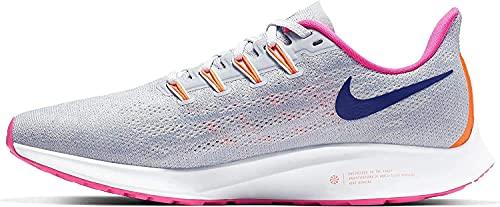 Nike Womens Air Zoom Pegasus 36 Running Shoes Wolf Grey/Regency Purple 6.5