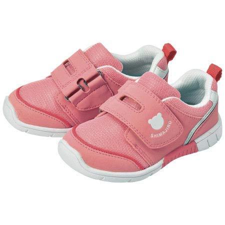 [しまじろう]E1靴キッズ シンプル (ピンク, 16.0cm)