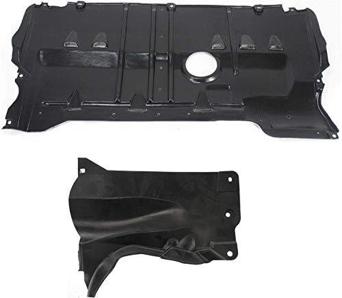 Engine Splash Shield Compatible with MAZDA 3 2004-2009 / Mazda 5 2006-2010...