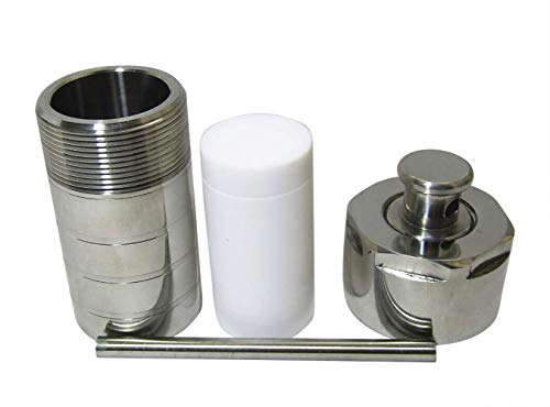 10mL PTFE Lined Hydrothermal Synthesis Autoclave Reactor Vessel Kettle Lab Equipment 3Mpa