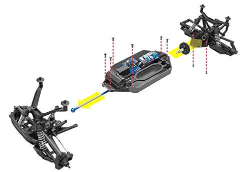Traxxas Traxxas 67014-4 - Stampede 4x4 - Kit INKL, Fernsteuerung & Elektronik Auto RC