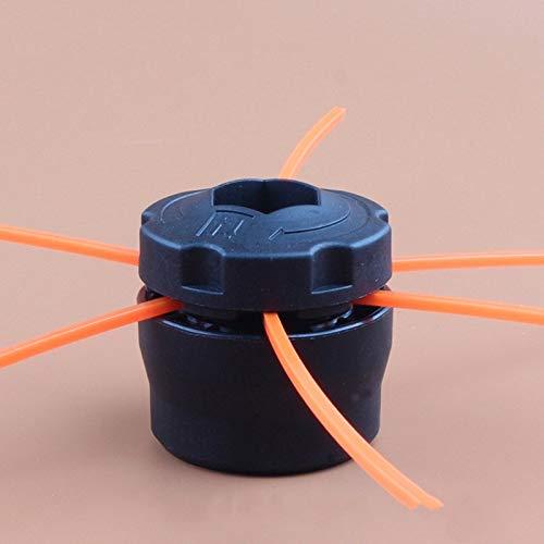 No logo HXIANG universele kunststof grastrimmer kop met 3 trimmers, lijnen voor cirkelzaag, tuingereedschap, deel trimmerkop lijn, grasssnijgereedschap