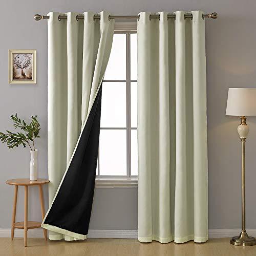 cortinas opacas 2 piezas termicas