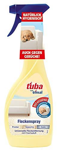 Tuba Flecken-Spray, Teppichreiniger zur Entfernung selbst hartnäckiger Flecken und Gerüche, 4er Pack (4 x 500 ml)