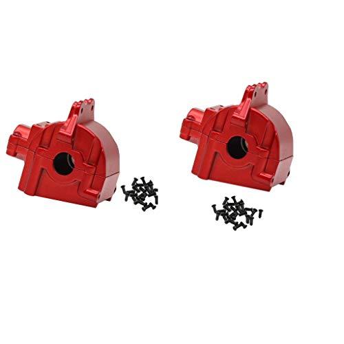 sharprepublic 2 Teiliges RC Getriebegehäuseset für WLtoys 144001 1/14 Buggy Trucks DIY Parts